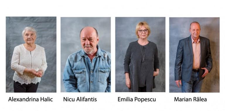 """afis Ambasadorii Campaniei Naționale """"Artiștii pentru artiști"""""""