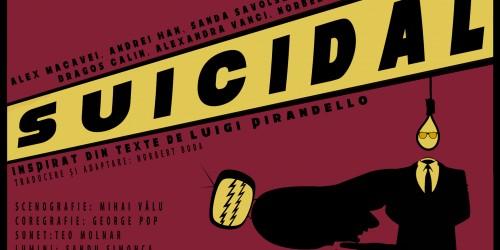"""Spectacolul """"Suicidal"""", regia Norbert Boda – prima premieră a anului 2019!"""