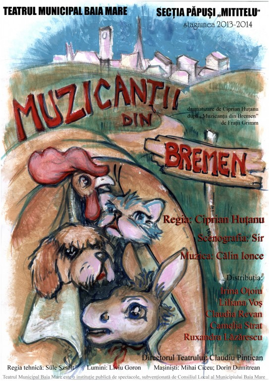 afis Muzicanții din Bremen