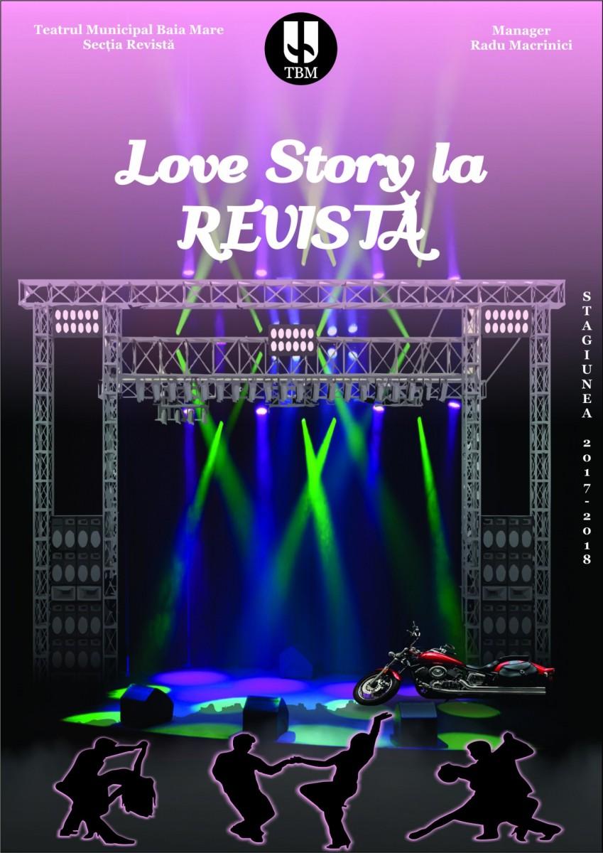 afis Love Story la REVISTĂ