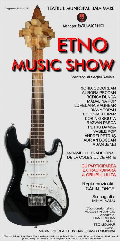 afis ETNO MUSIC SHOW